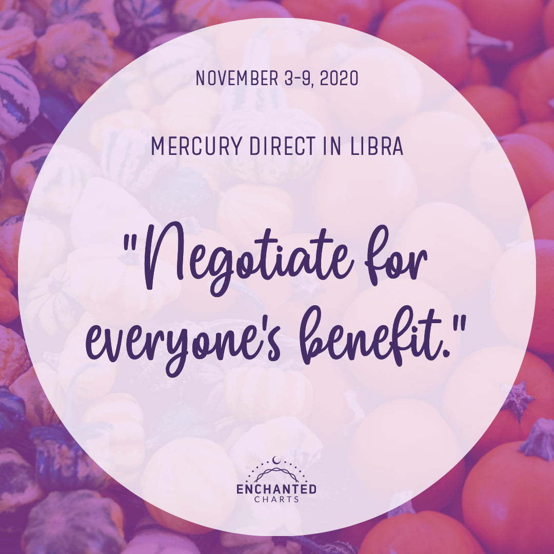 Negotiate for everyone's benefit.