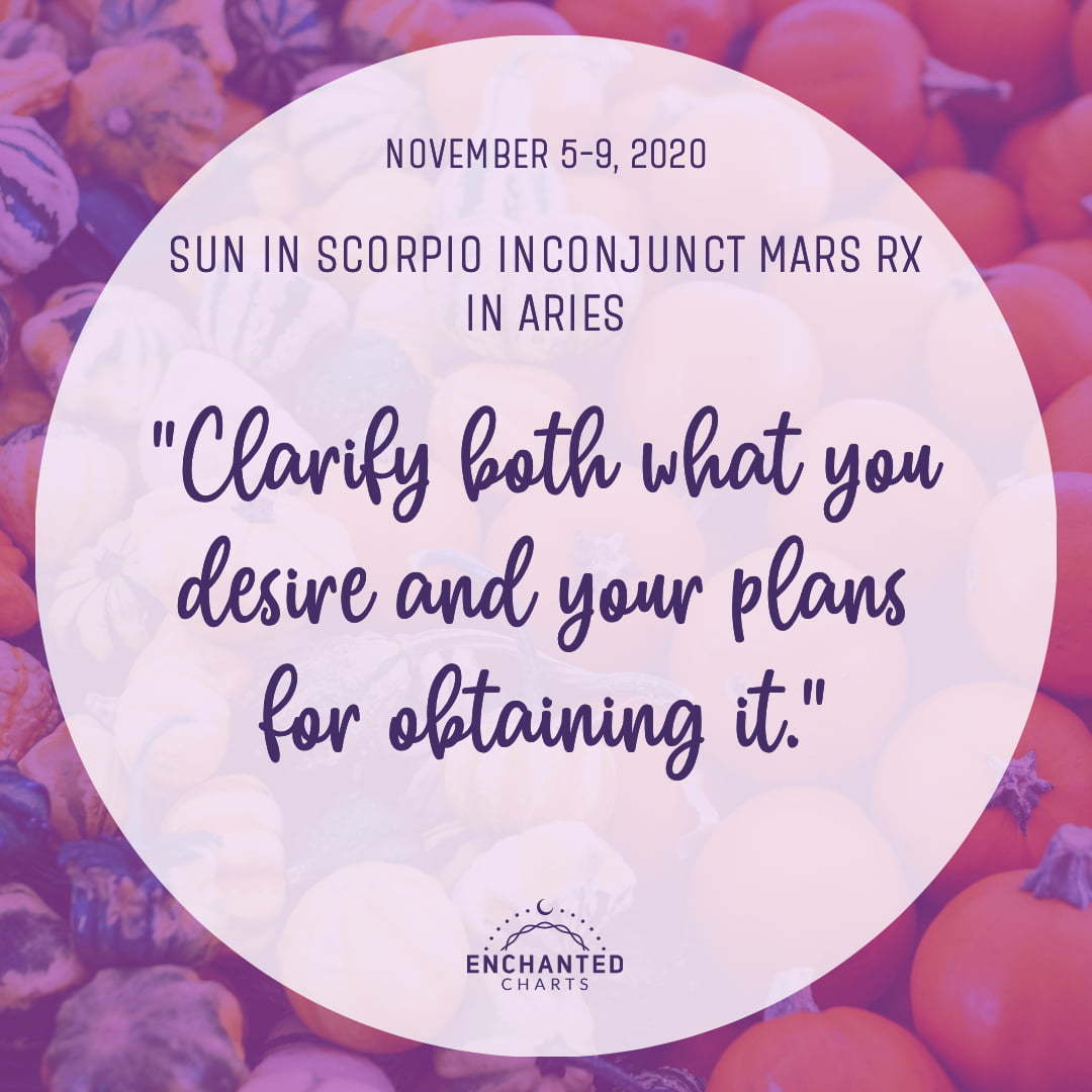 Clarify both what you desire and your plans for obtaining it.