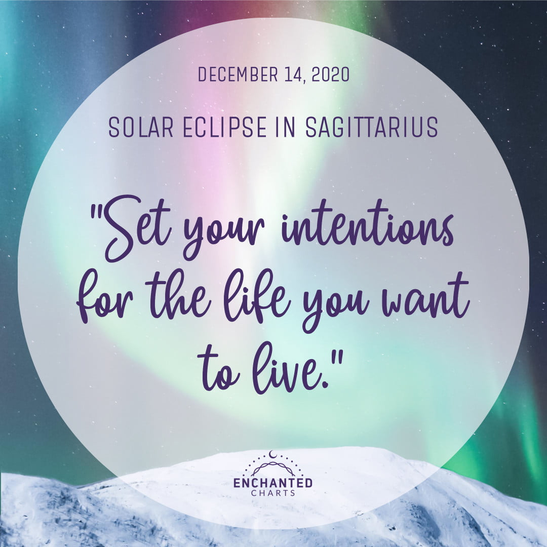 Set your intentions for the life you want to live.
