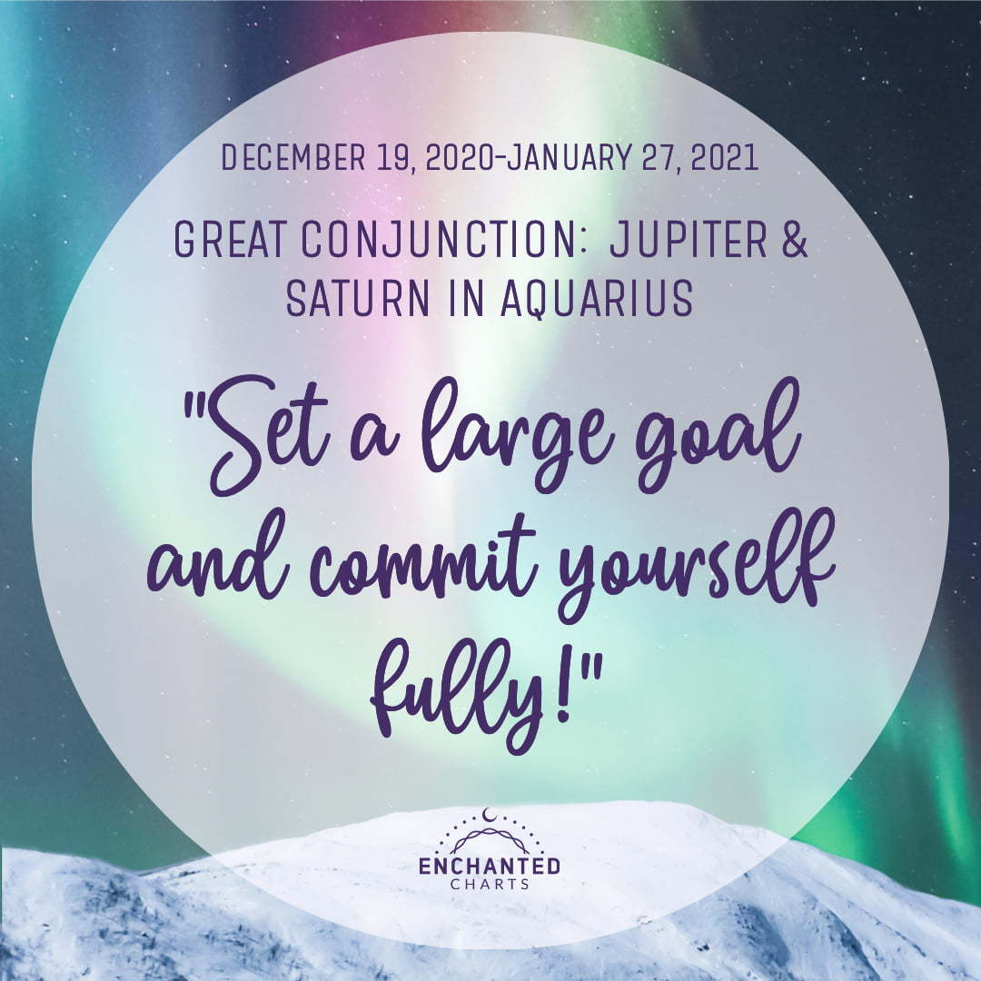 Set a large goal and commit yourself fully!