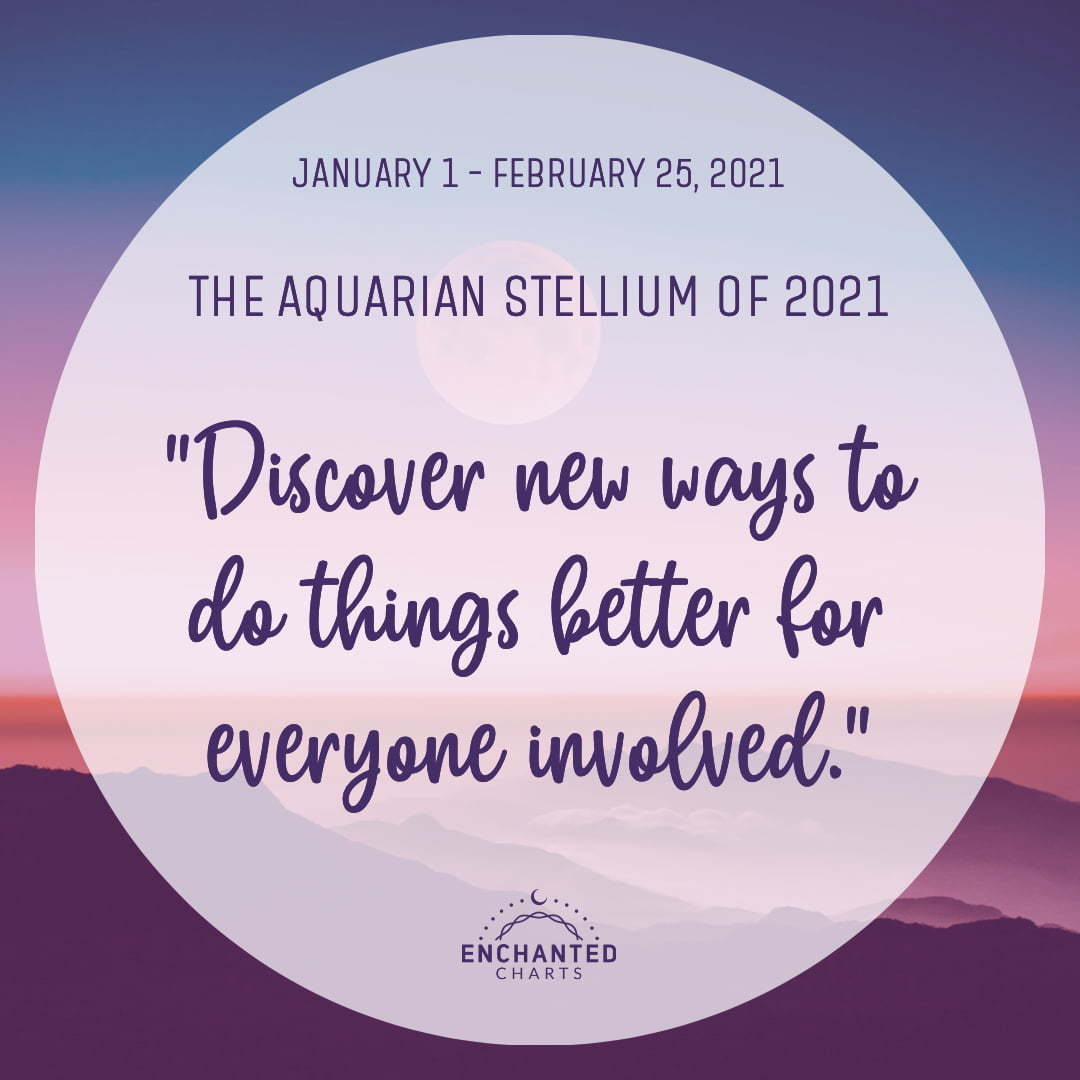 The Aquarian Stellium:  Discover new ways to do things better for everyone involved